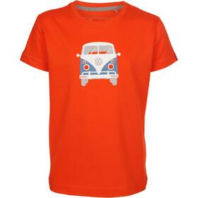 Elkline Teeins Camiseta Manga Corta Niños, cherrytomato